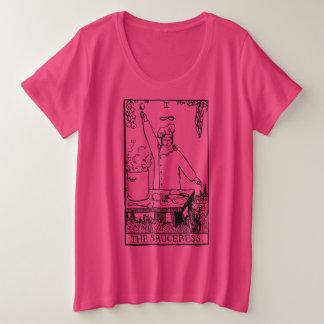 Das Sauceress! Damen plus Größen-Spitze Große Größe T-Shirt