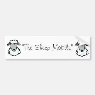 Das Schaf-Mobile Autoaufkleber