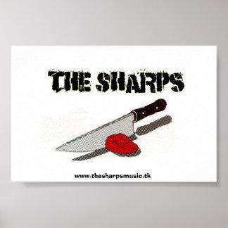 Das Scharfes Messer-Plakat Poster