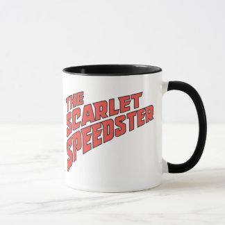 Das Scharlachrot Speedster Logo- Tasse