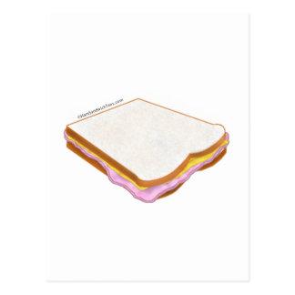 Das Schinken-Sandwich Postkarte