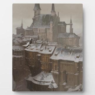 Das Schloss des Hauseigentümers Fotoplatte
