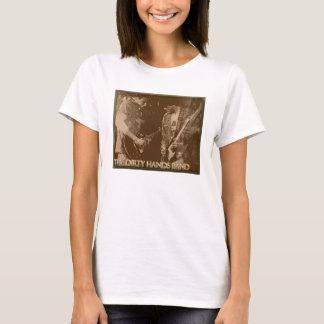das schmutzigen T-Shirt der Handband-Frauen