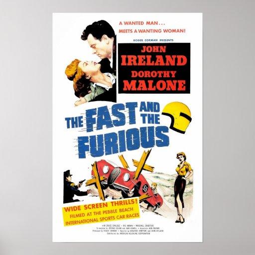 Das schnelle u. Furious (1955) Plakat