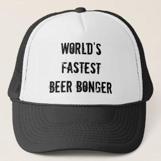 Das schnellste Bier Bonger der Welt Truckerkappe