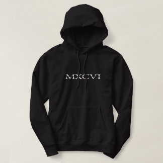 Das Schwarze der Hauben-MXCVI Hoodie