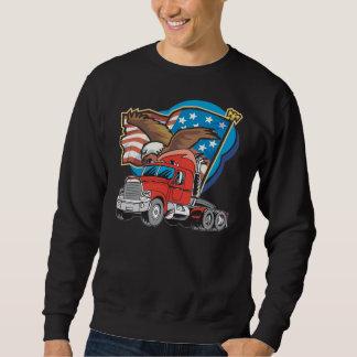 Das schwarze Sweatshirt der