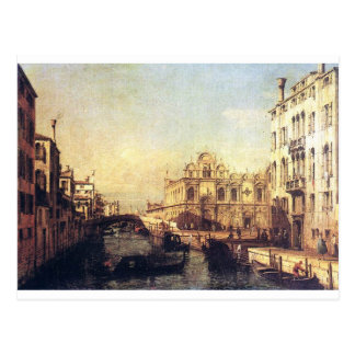 Das Scuola von San Marco durch Bernardo Bellotto Postkarte