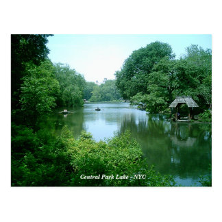 Das See-Central Park - New York City Postkarte
