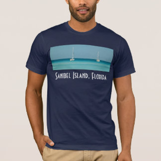 Das Segelboot-T-Shirt Shirt Sanibel