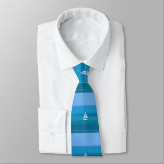 Das Segeln des Doppelten versah mit Seiten Personalisierte Krawatte