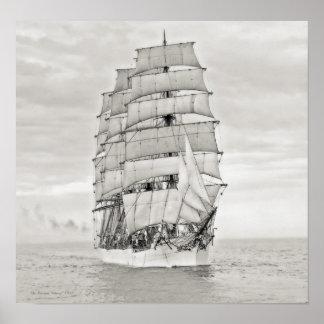 """Das Segelschiff """"Viking """" Poster"""