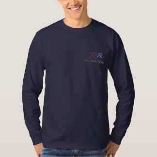 Das Shirt CCS gestickter Lang-Hülse Männer -