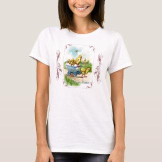 Das Shirt Chicky Lastwagen-Ostern-Frauen
