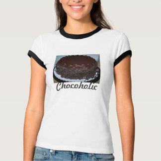 das Shirt Chocoholic der Frauen