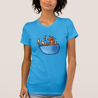 Das Shirt der Chibi Makkaroni-und Käse-Frauen