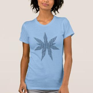 Das Shirt der grauen blauer Streifen-Stern-Frauen