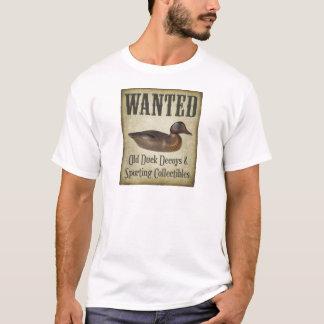 Das Shirt der Männer - gewollt: Lockvögel