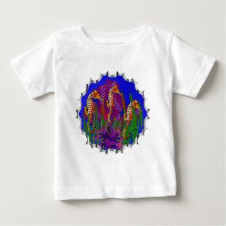 Das Shirt der persönliche Seepferdeaquarium-Kinder