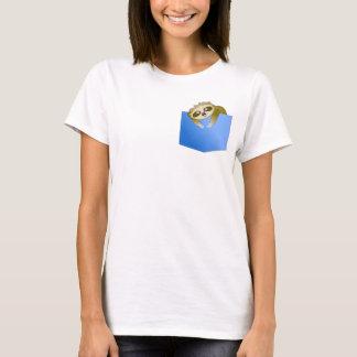 Das Shirt der Sloth-Taschen-Kumpel-Frauen
