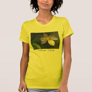 Das Shirt der weißen Tulpe-Frauen
