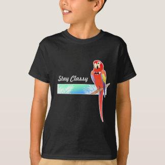 Das Shirt des noblen Papageien-Jungen