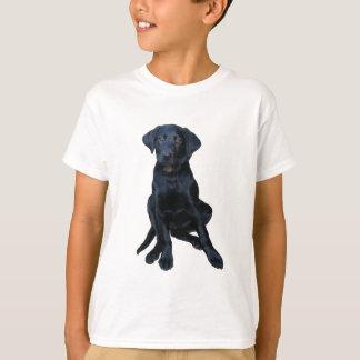 Das Shirt des schwarzes Labrador-Welpen-Kindes
