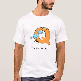 Das Shirt des Tieralphabet-Kindes