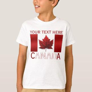 Das Shirt-Kanada-Flaggen-des Kindes Kanada-Kindes T-Shirt