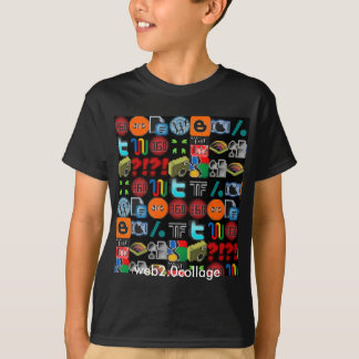 das Shirt web2.0collage Kinder