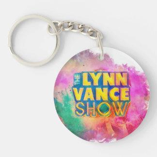 Das Showdoppelte Lynns Vance versah Schlüsselkette Schlüsselanhänger