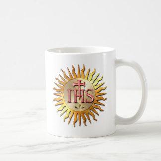 Das Siegel des Jesuit-Auftrages Kaffeetasse