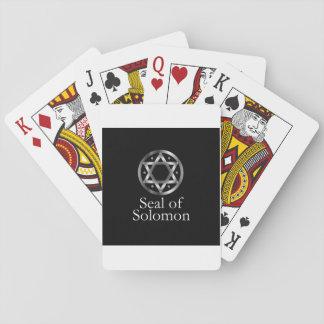 Das Siegel von Solomon- ein magisches Symbol oder Spielkarten