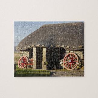 Das Skye Museum des Insel-Lebens, nahe Duntulm, Foto Puzzles