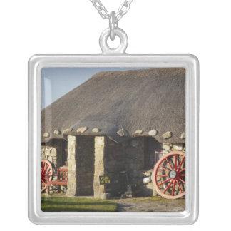 Das Skye Museum des Insel-Lebens, nahe Duntulm, Halskette Mit Quadratischem Anhänger