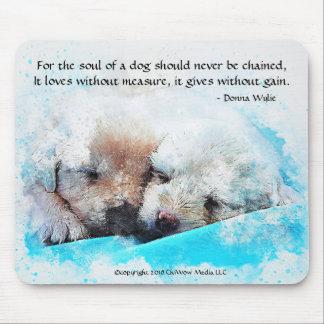 Das Soul eines Hundes - Welpen Mousepad