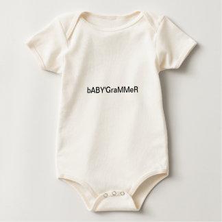 Das späteste in Babyabnutzung baBYGraMMeR Baby Strampler