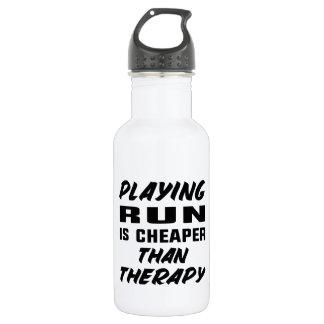 Das Spielen laufen gelassen ist billiger als Trinkflasche