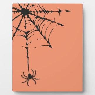 Das Spinnen-Netz I Fotoplatte