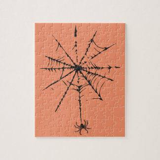 Das Spinnen-Netz I Puzzle