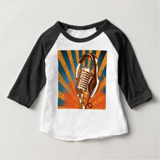 Das sprechenmikrofon baby t-shirt