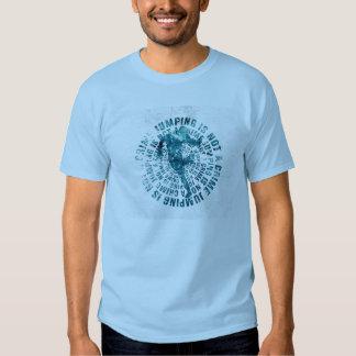 Das Springen ist nicht ein Verbrechen - Jumpstyle T Shirt