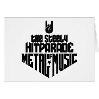 Das stählerne Hitparade von Metallmusik 1c Karte
