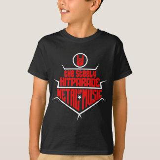 Das stählerne Hitparade von Metallmusik 2 (rotes T-Shirt