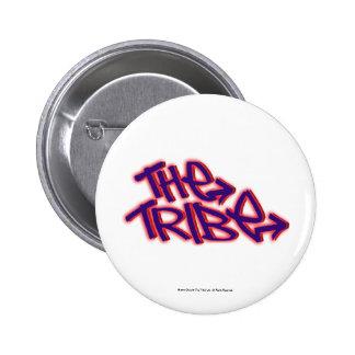 Das Stamm-offizielle Logo Runder Button 5,1 Cm