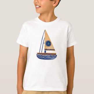 Das Stammes- Segelboot T-Shirt