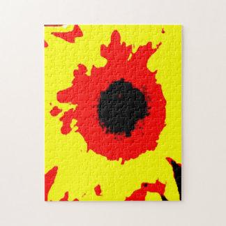 Das starke Sonnenblume-Puzzle Puzzle