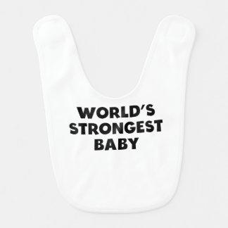 Das stärkste Baby der Welt Lätzchen