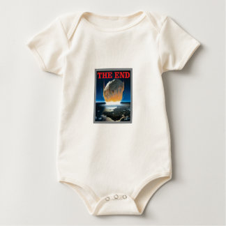 das sternartige Ende Baby Strampler