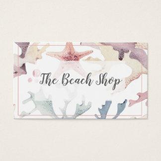 """""""Das Strand-Geschäfts-"""" KüstenVisitenkarte Visitenkarte"""